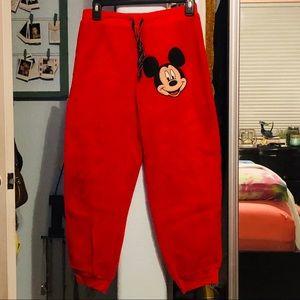 ✨Mickey Mouse sweat pants